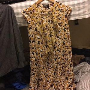 Saloni 100% silk dress size 0